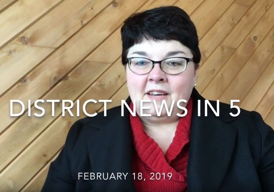 District News in Five